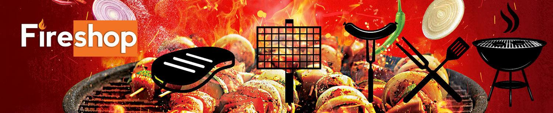 Fireshop webáruház - kerti sütés, grill, bbq